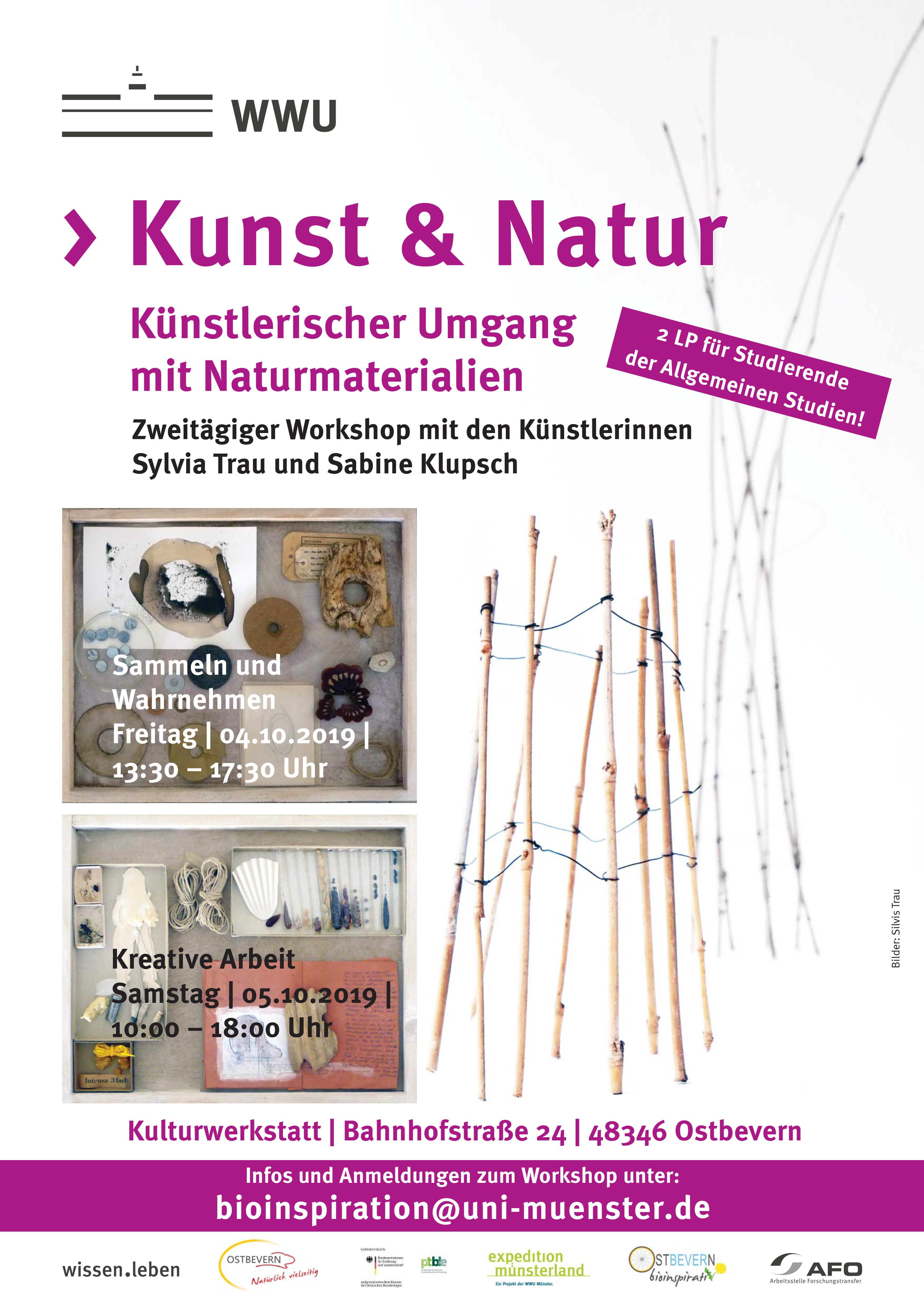 Herbstworkshop Kunst Natur Am 04 05 Oktober 2019 Ostbevern